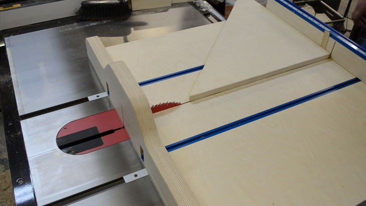 Table Saw Cross Cut Miter Sled In One Ep58