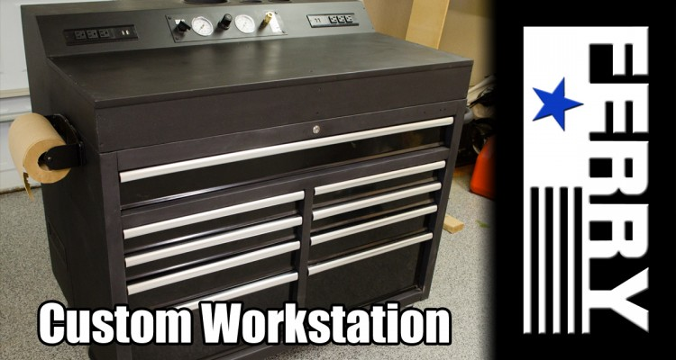 187 Custom Mobile Work Station