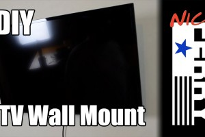 DIY TV Wall Mount thumb