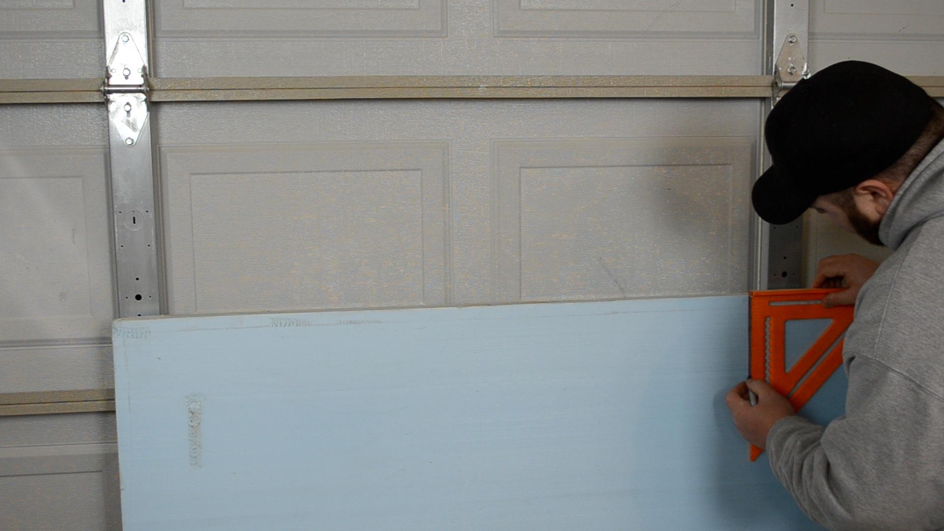 garage pin household tago door blanket for insulation regarding