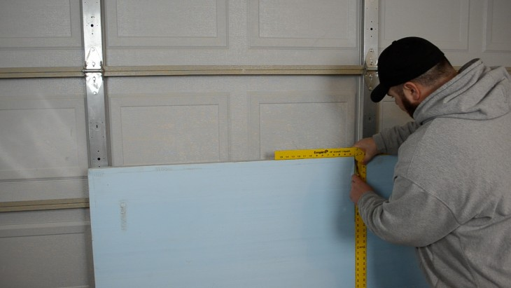 (ep30) insulate garage door 05