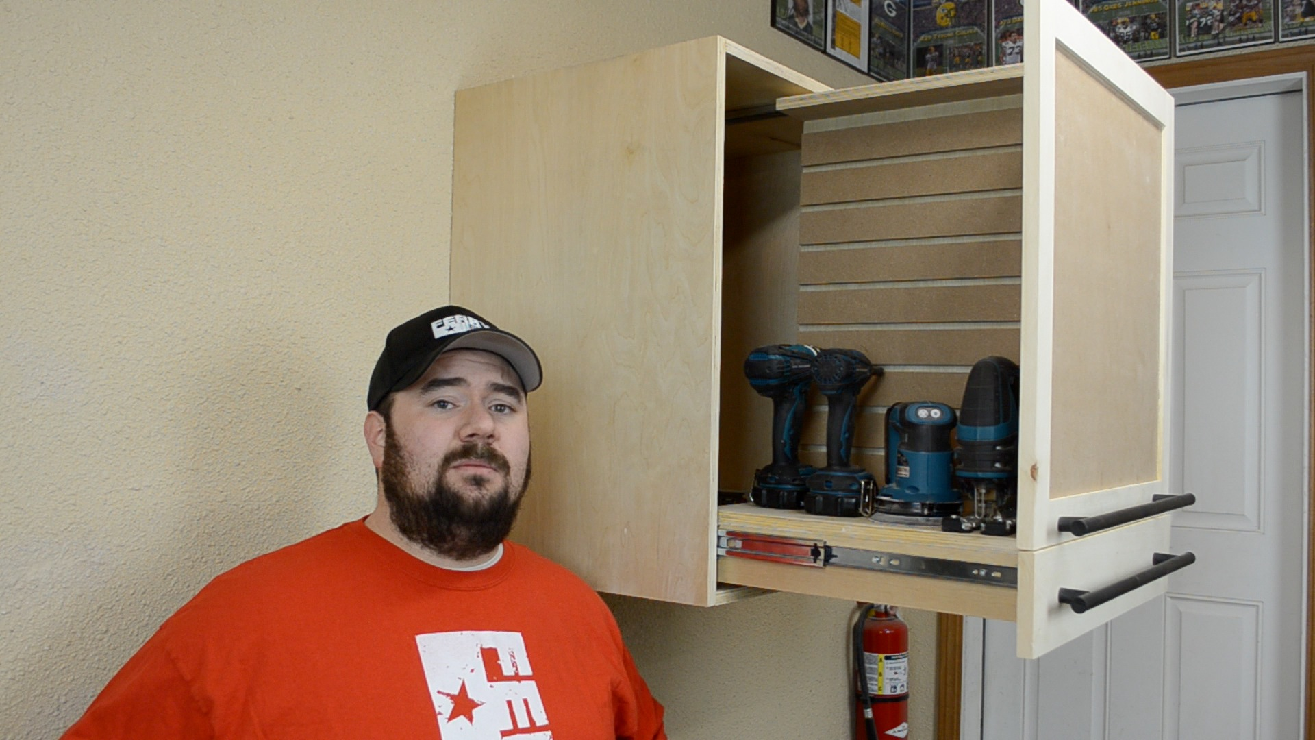 187 How To Make A Cordless Tool Cabinet Ep34
