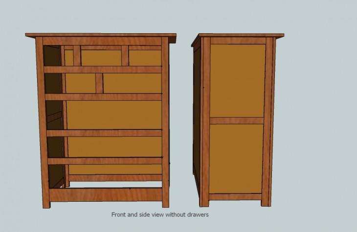 upright dresser