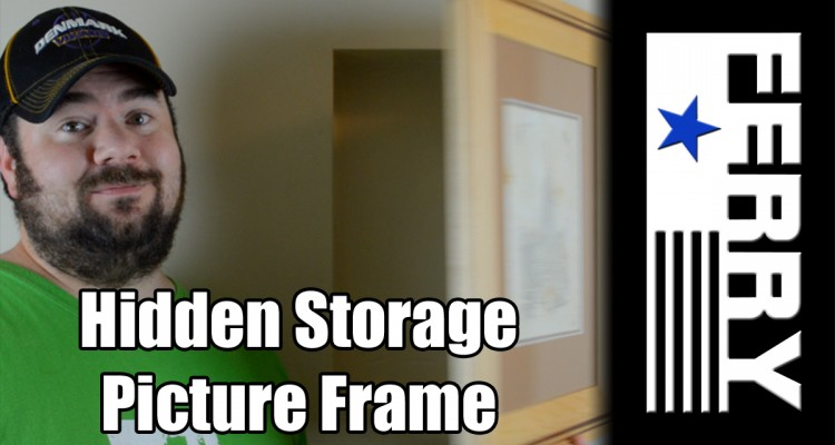 Hidden Storage Picture Frame Ep14