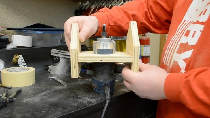 Spoon making router jig ep kitchen utensil challenge