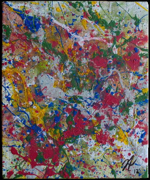 Ferry Pollock Painting