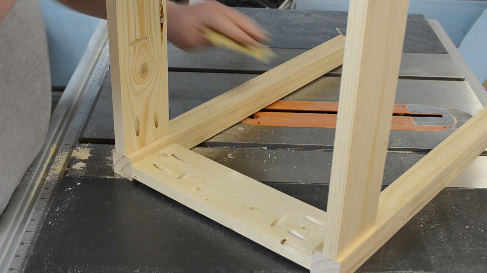 Make An End Table w/ A Kreg Jig® & A Drill (ep46)