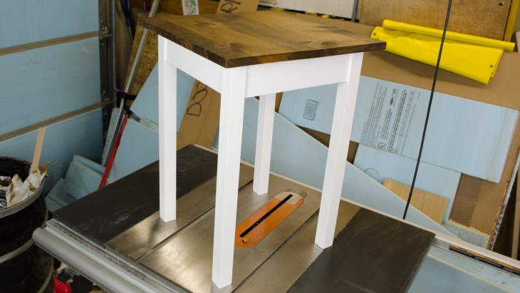 pocket hole end table 20