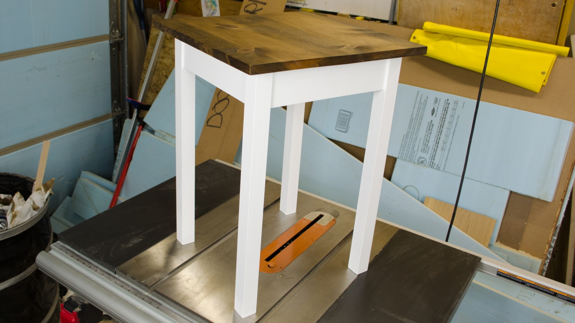 Make An End Table W A Kreg Jig A Drill Ep - How to build an end table