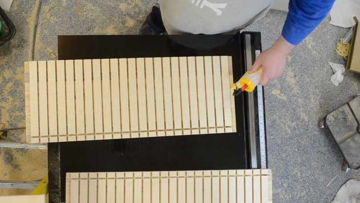 How to make a cabinet for sandpaper 14