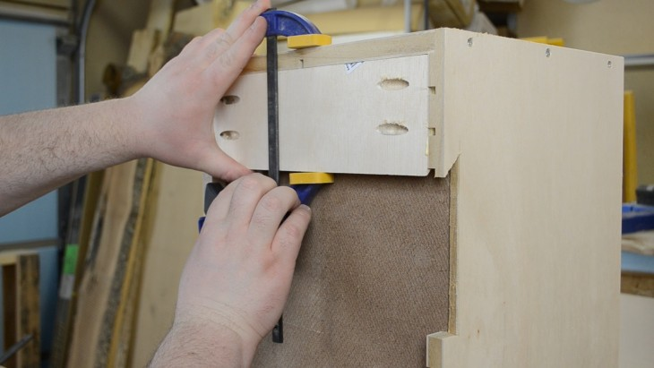 How to make a cabinet for sandpaper 23