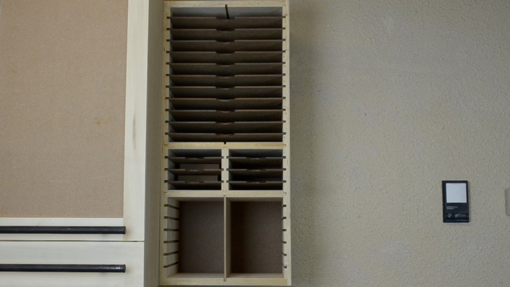 How to make a cabinet for sandpaper 25
