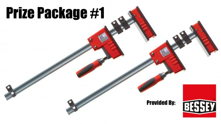 Two (2) K Body® REVO™ Parallel Clamps