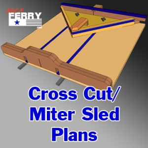 Table Saw Cross-Cut & Miter Sled In One (ep58)
