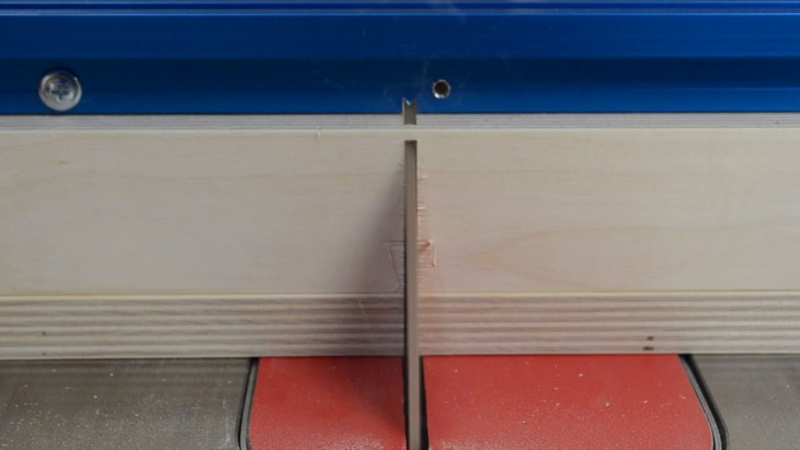 table saw sled 24