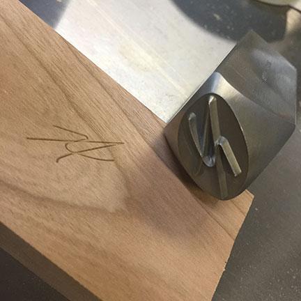 Wood Branding Stamp 02