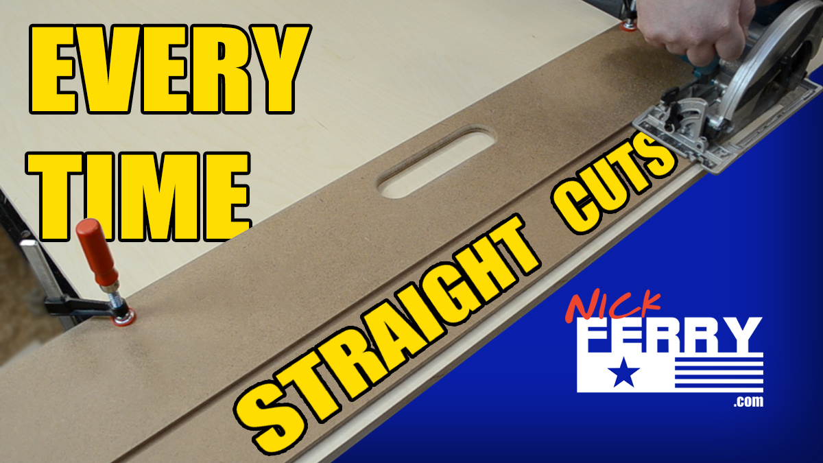 » Make Straight Cuts Every Time With A Door Board (ep60)