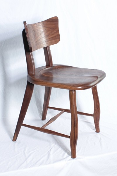 Walnut Cafe Chair 1