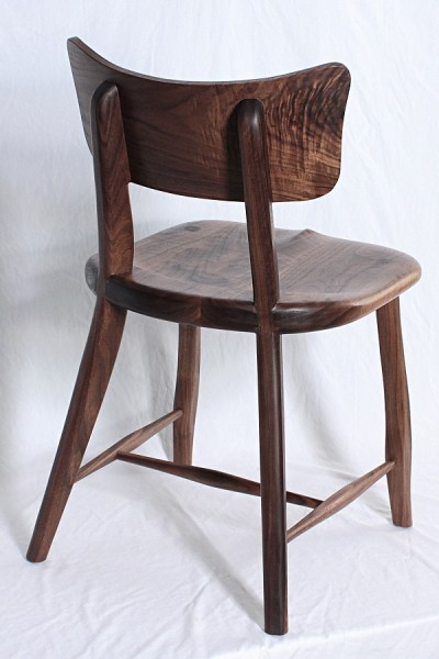 Walnut Cafe Chair 2