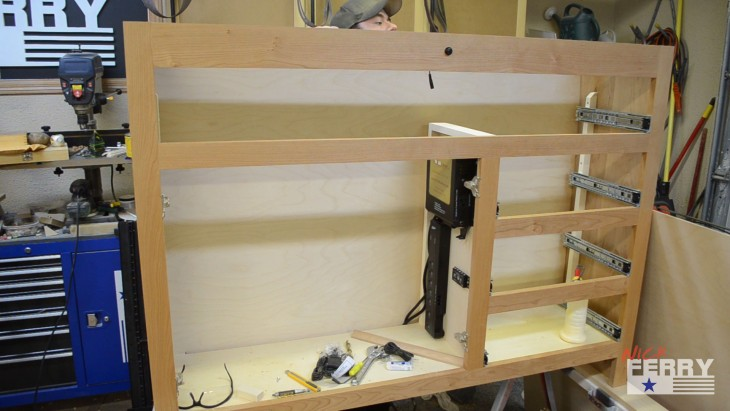 Making A TV Lift Cabinet – With Secret Compartment (ep63)