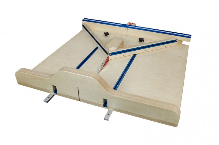 nick ferry table saw sled and miter sled