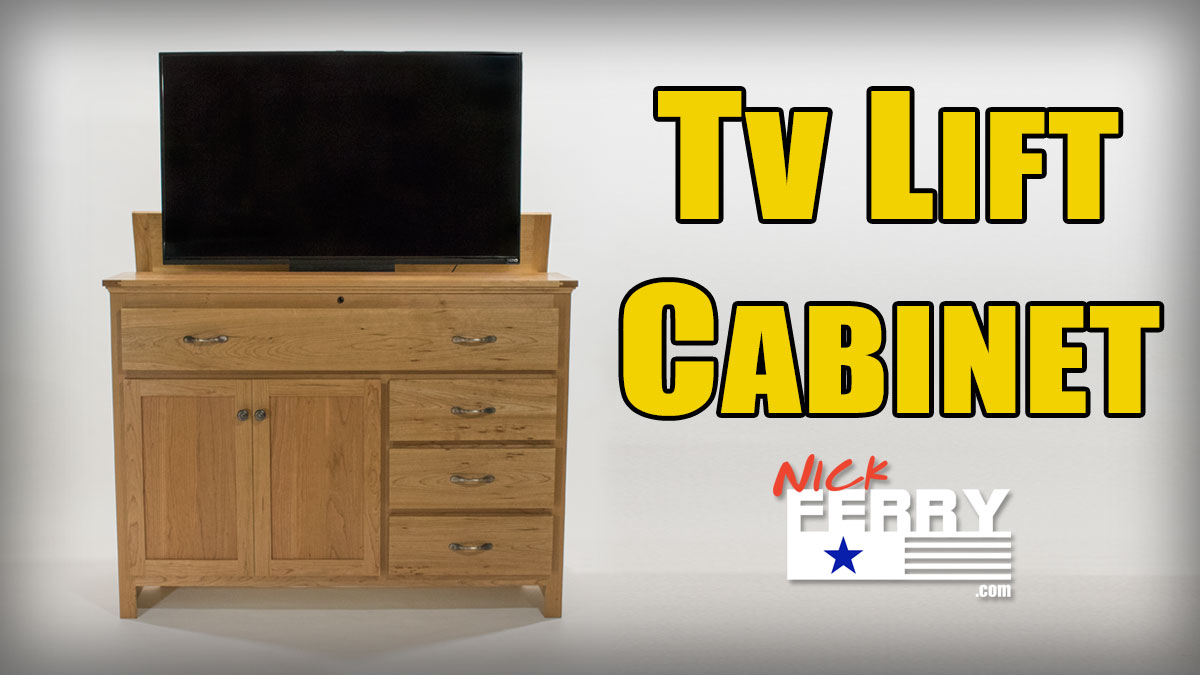 » Making A TV Lift Cabinet U2013 With Secret Compartment (ep63)