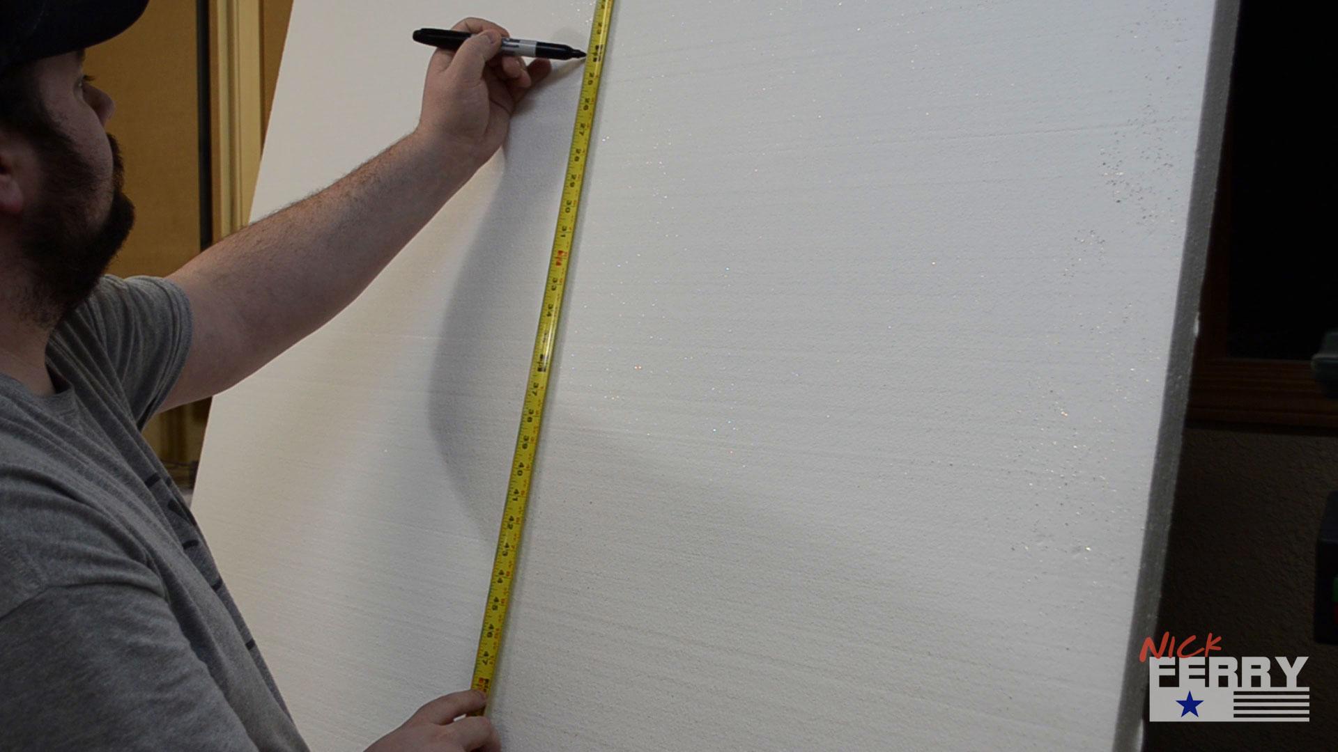 Making Brick Walls From Styrofoam ep65