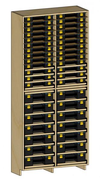 HF organizer cabinet