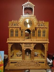 Kenbo Ornate Wooden Clock 2