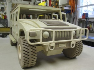 Kenbo Wooden Hummer Model