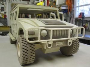 Kenbo Wooden Hummer Model