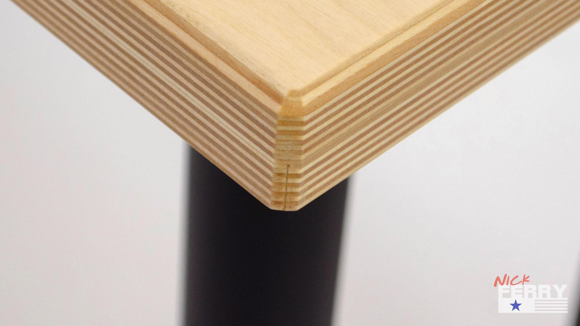 Baltic Birch Plywood ~ Diy office desk w baltic birch top ep