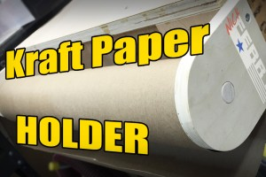 kraft paper holder