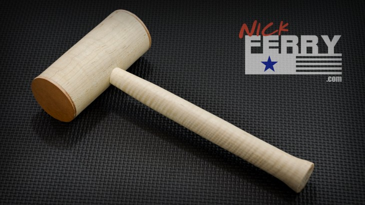Curly-Maple-Wood-Mallet37