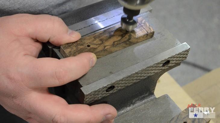 Walnut Marking Knife39