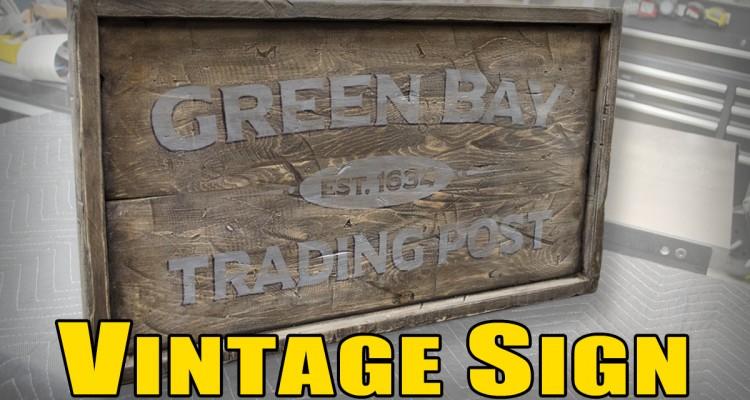 thumbnail vintage sign