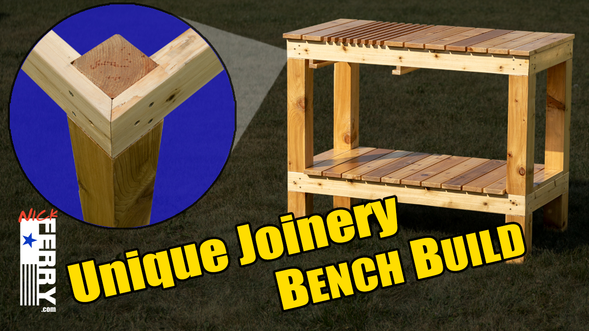 Pleasing Workbench Build Potting Bench With Unique Joinery Ep89 Gmtry Best Dining Table And Chair Ideas Images Gmtryco