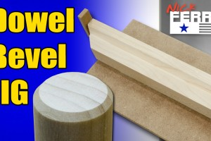 chamfer Dowel Bevel jig